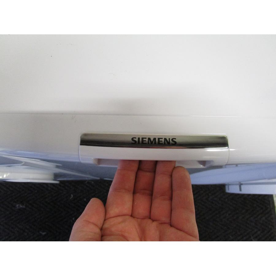 Siemens WP12T287FF - Poignée d'ouverture de la porte