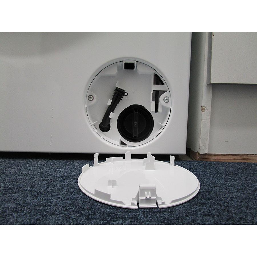 Siemens WU14Q408FF - Bouchon du filtre de vidange