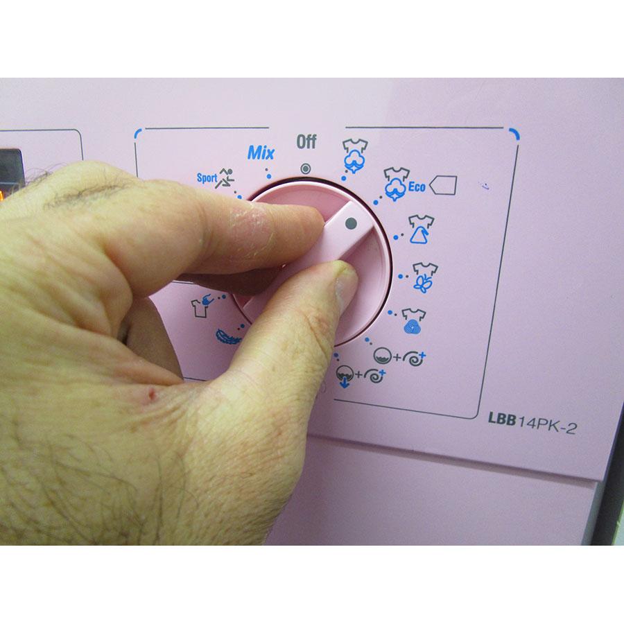 Smeg LBB14PK-2 - Visibilité du sélecteur de programme
