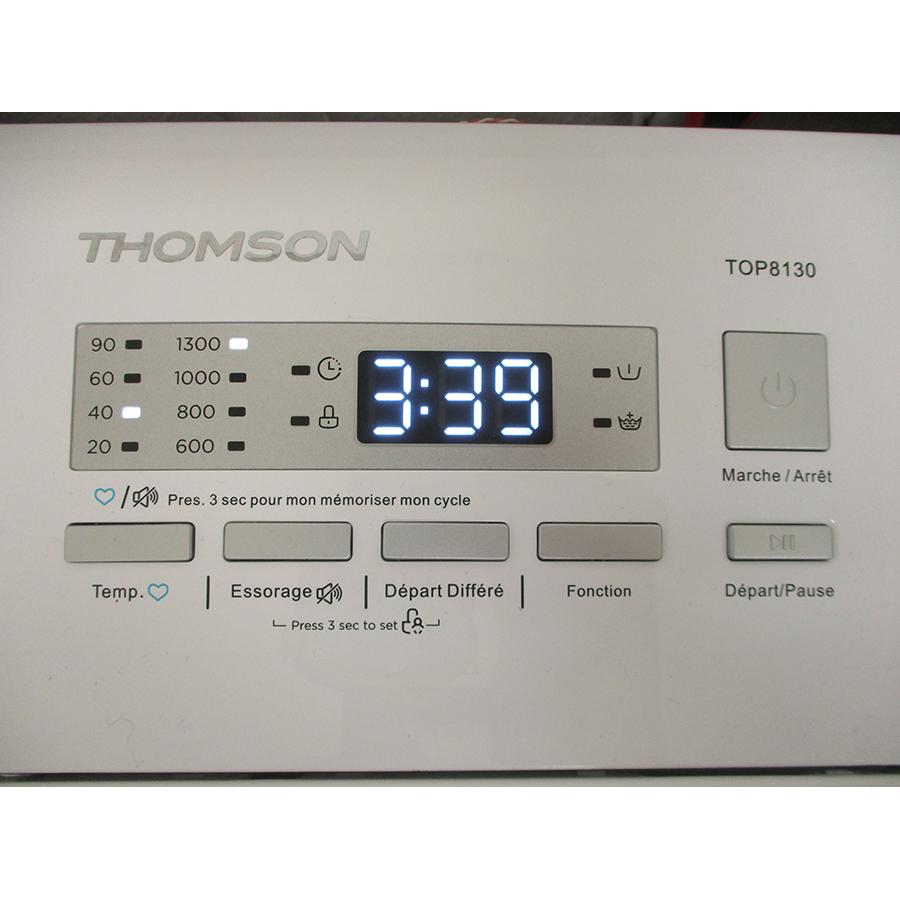 Thomson (Darty) TOP8130 - Afficheur et touches d'options