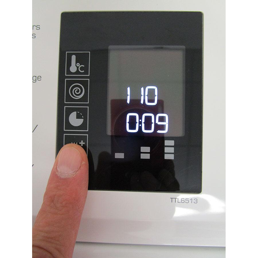 Thomson (Darty) TTL 6513 - Afficheur et touches d'options
