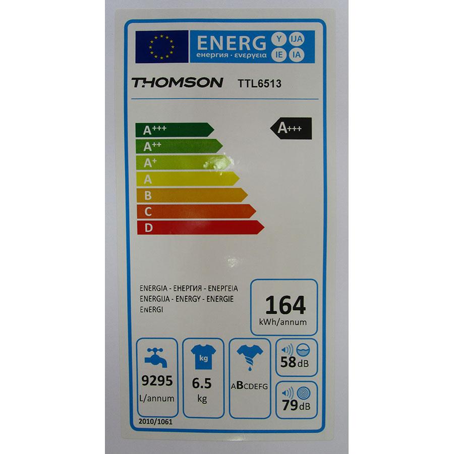 Thomson (Darty) TTL 6513 - Étiquette énergie