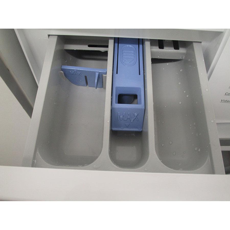 Thomson TW 712 - Compartiments à produits lessiviels