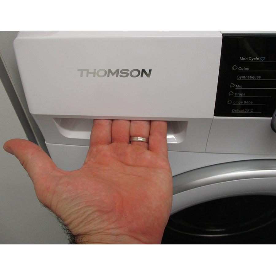 Thomson TW15100 - Ouverture du tiroir à détergents