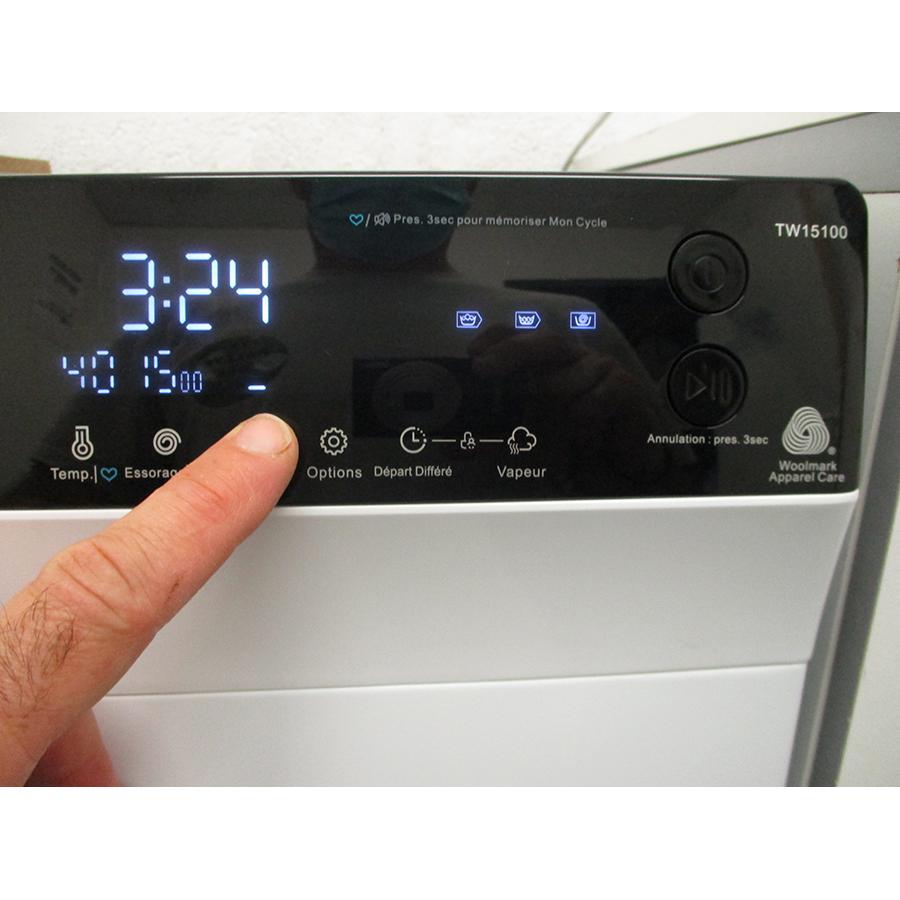Thomson TW15100 - Afficheur et touches d'options