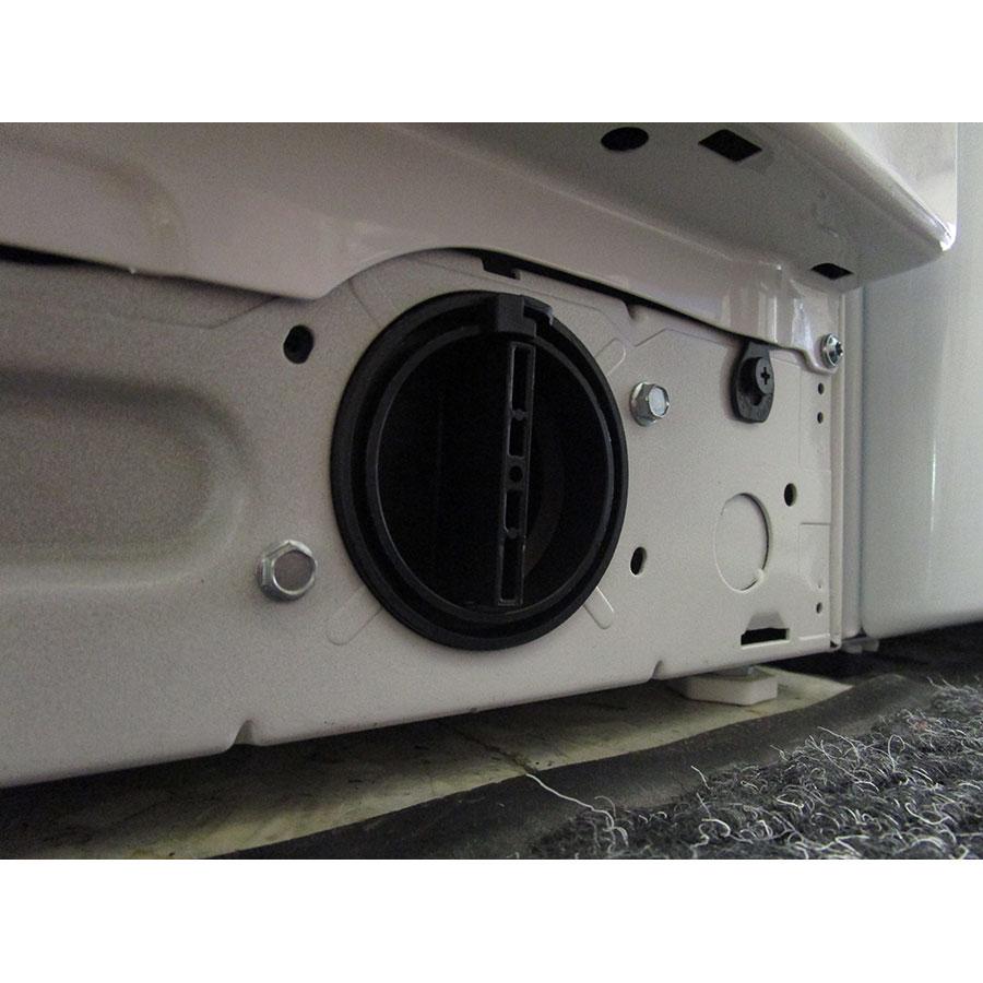 Whirlpool FSCR10432(*29*) - Bouchon du filtre de vidange