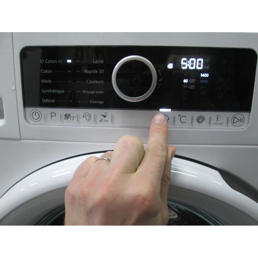 Whirlpool FSCR80413 - Touches d'option