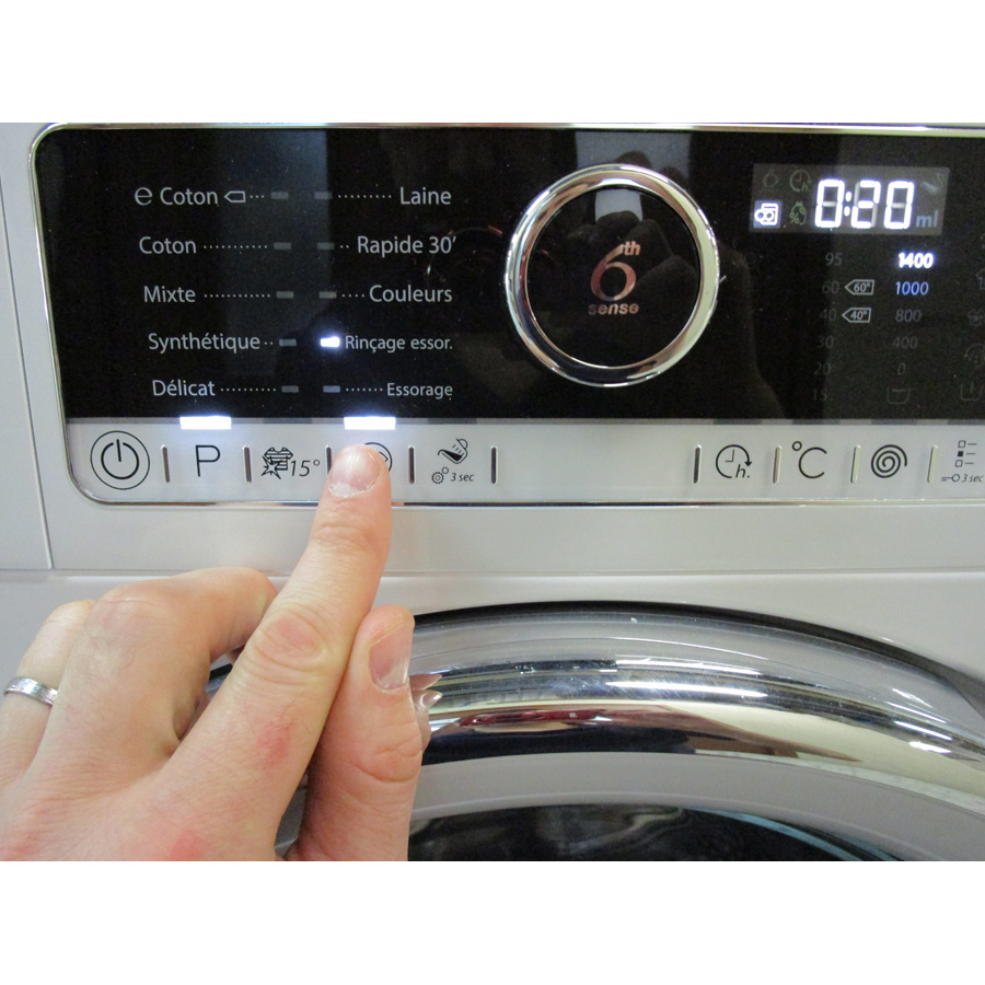 Whirlpool FSCR80421  - Touches d'option