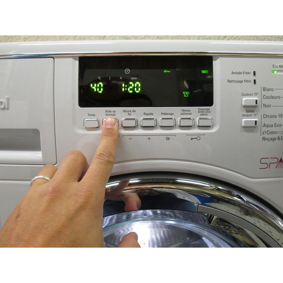 test whirlpool spa900 6 me sens infinitecare lave linge ufc que choisir. Black Bedroom Furniture Sets. Home Design Ideas