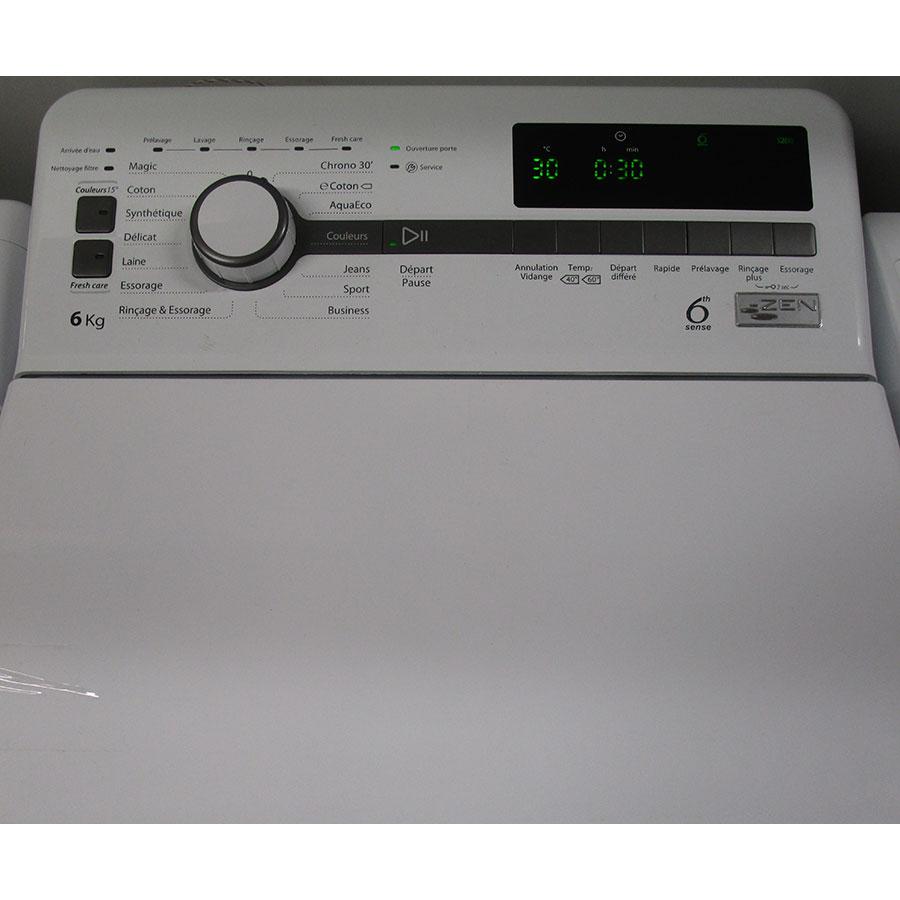 Whirlpool TDLR60230 - Panneau de commandes