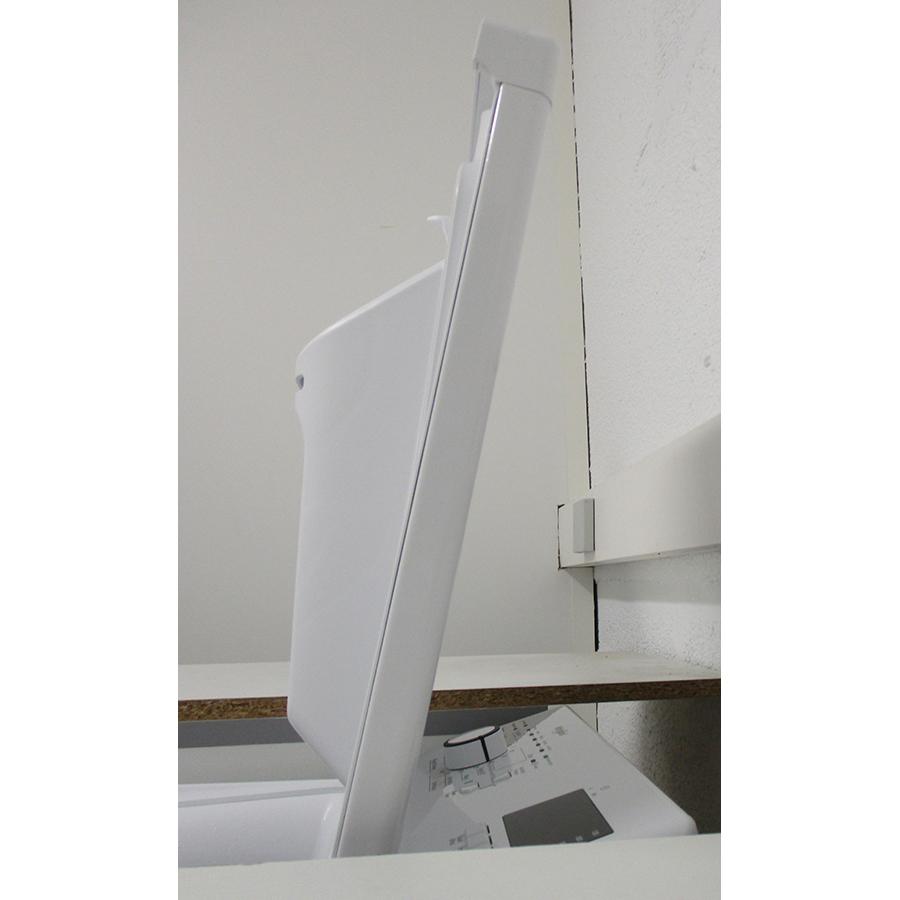 Whirlpool TDLR6228FR/N - Angle d'ouverture de la porte