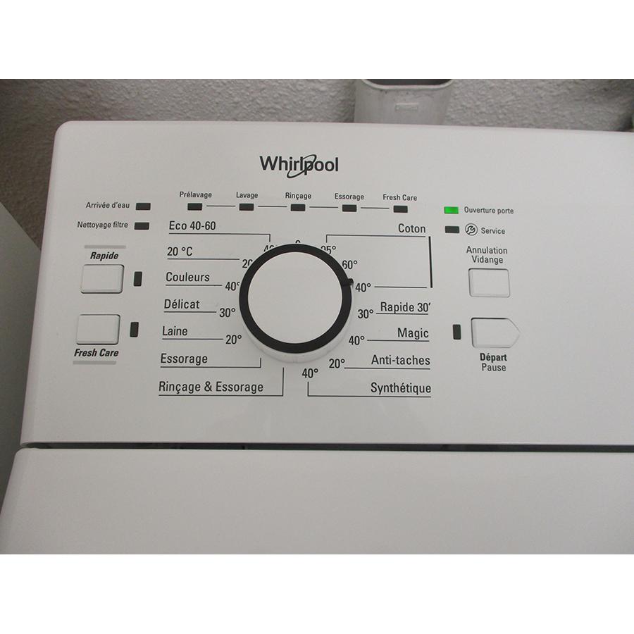 Whirlpool TDLR6228FR/N - Sélecteur de programme