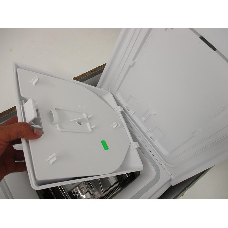Whirlpool TDLR6228FR/N - Retrait du bac à produit