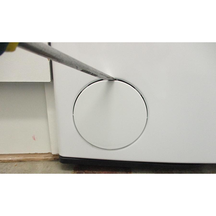 Whirlpool TDLR6228FR/N - Outil nécessaire pour accéder au filtre de vidange