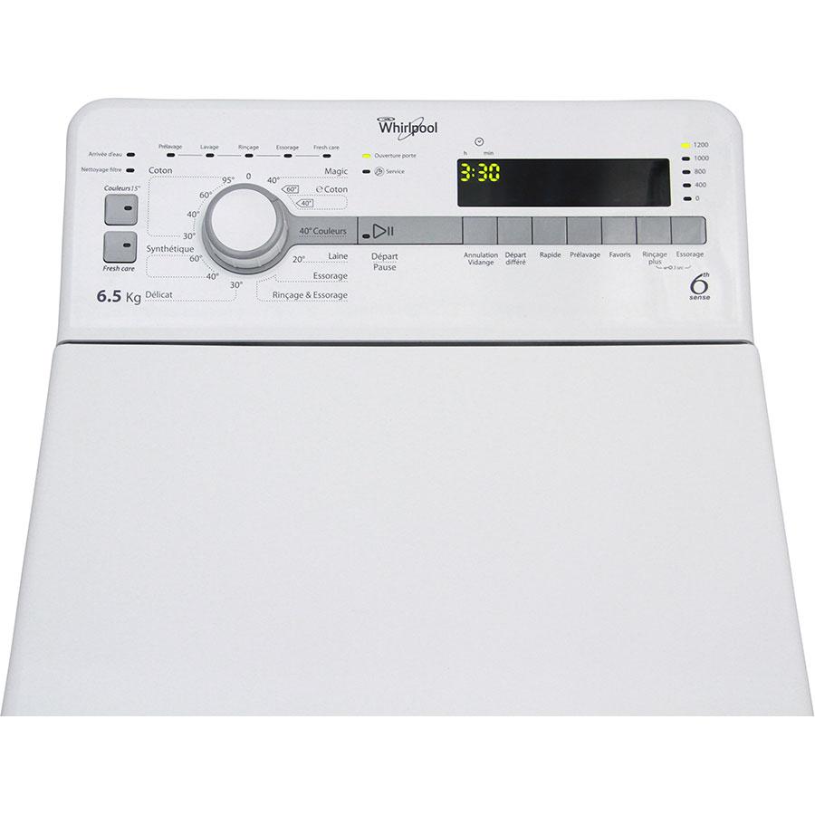 Test whirlpool tdlr65210 lave linge ufc que choisir for Lave linge que choisir