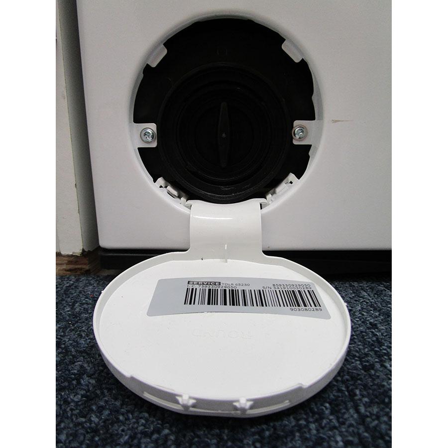 Whirlpool TDLR65230 - Bouchon du filtre de vidange