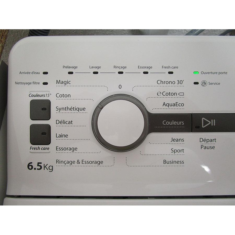 Whirlpool TDLR65230 - Panneau de commandes
