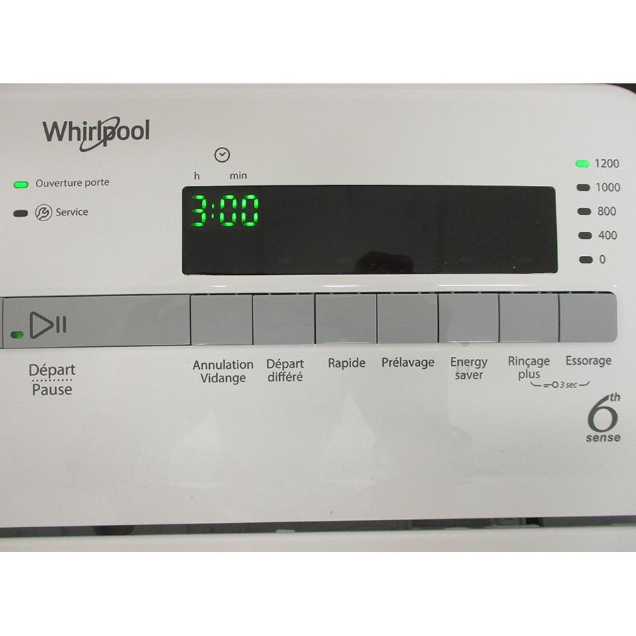 Whirlpool TDLR65230SFRN - Afficheur