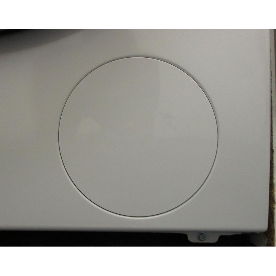 Whirlpool W6XW845WRFR Silence - Trappe du filtre de vidange