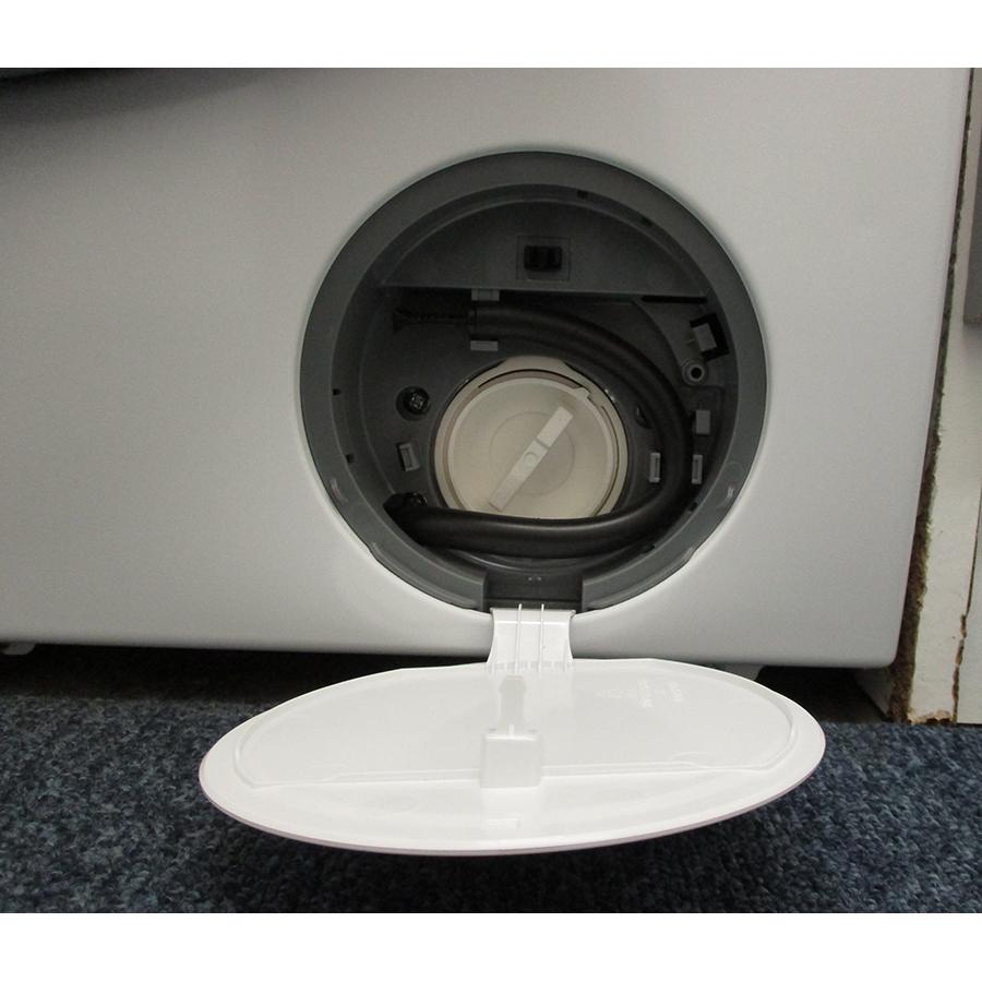 Whirlpool W6XW845WRFR Silence - Bouchon du filtre de vidange