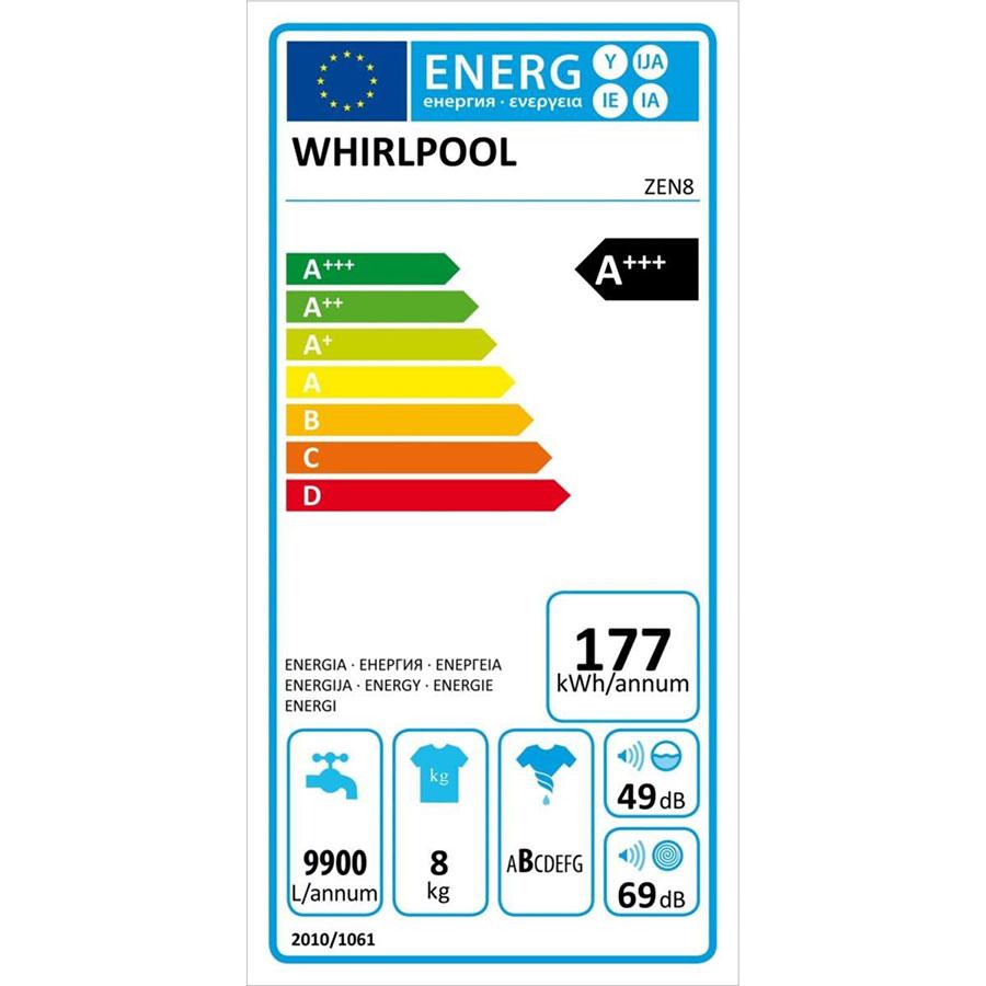 Whirlpool ZEN8 - Étiquette énergie