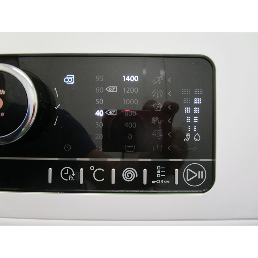 Whirlpool Zendose9 - Touches d'option