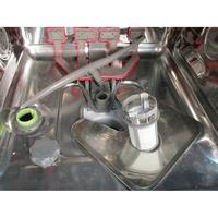 Whirlpool WFC 3C26P  - Réservoir à sel ouvert et retrait du filtre