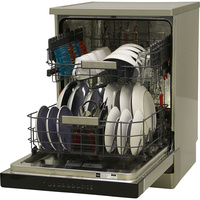Whirlpool WFO3T121PX - Vue de 3/4, porte ouverte