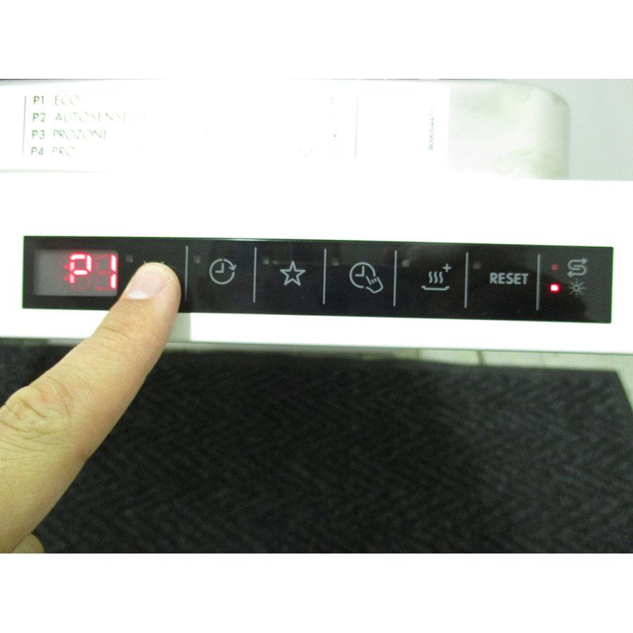 Test aeg f87792w0p lave vaisselle ufc que choisir for Test lave vaisselle que choisir