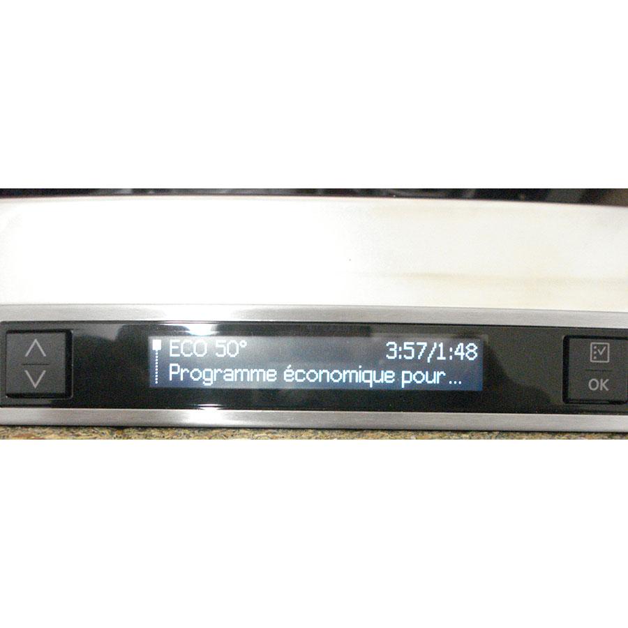 AEG FSK93800P - Bandeau de commandes