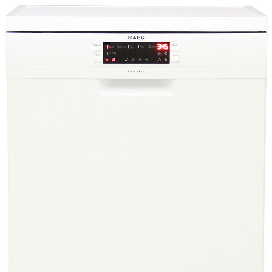 Test aeg silence blanc lave vaisselle ufc que choisir for Test lave vaisselle que choisir