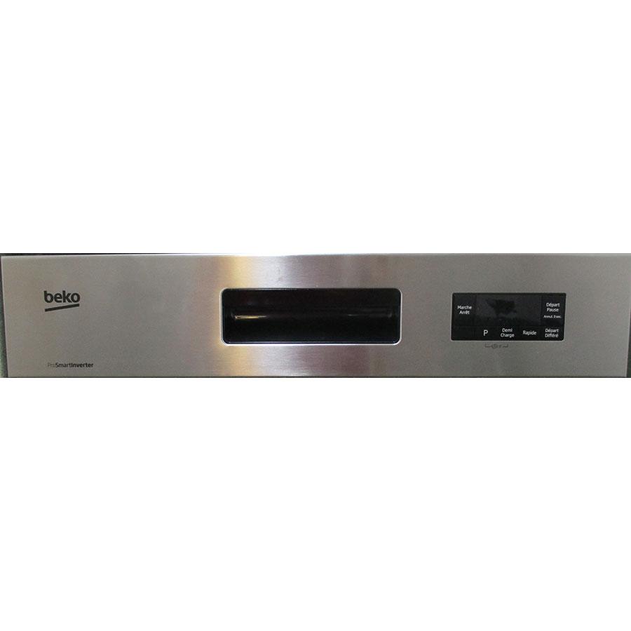 Beko CDSN15421X - Bandeau de commandes