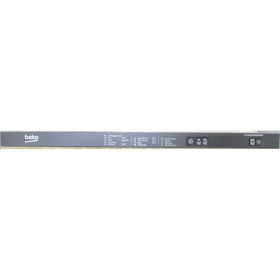 Beko DIN28431 - Bandeau de commandes