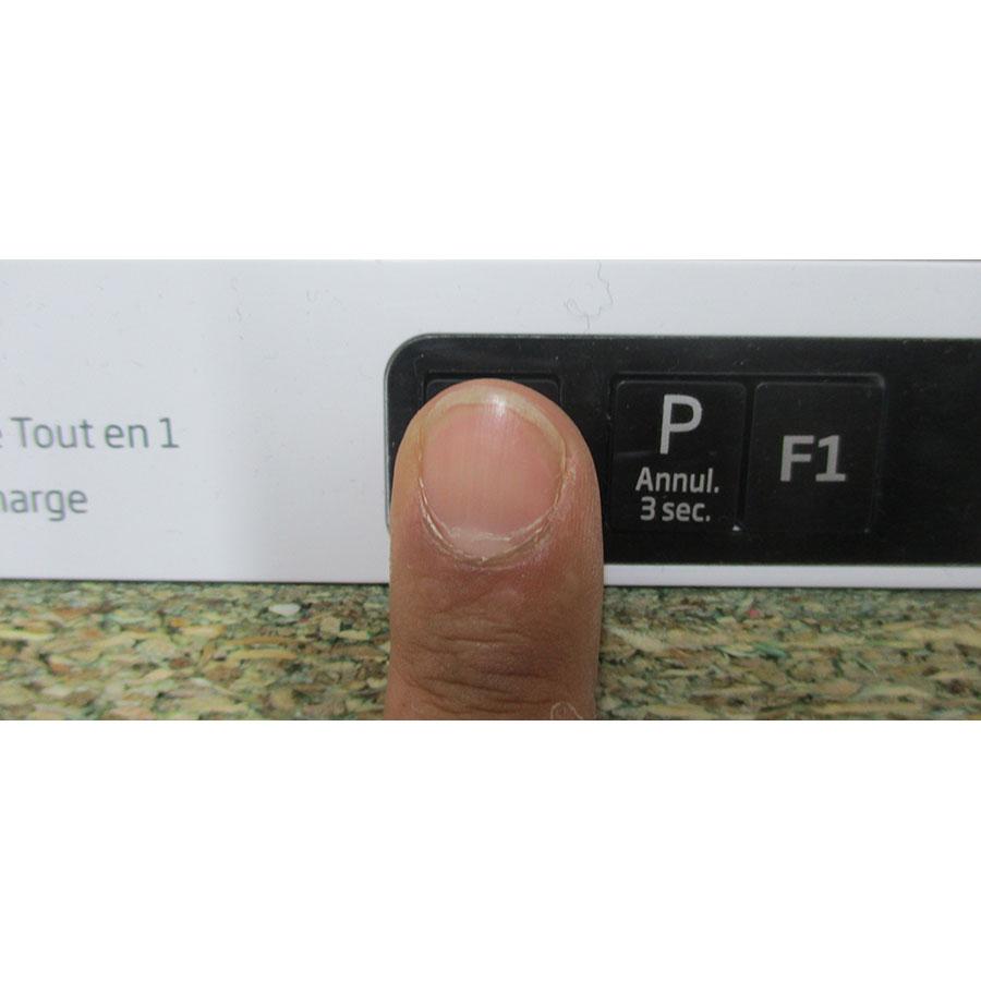 Beko LVI70F - Touches de commandes