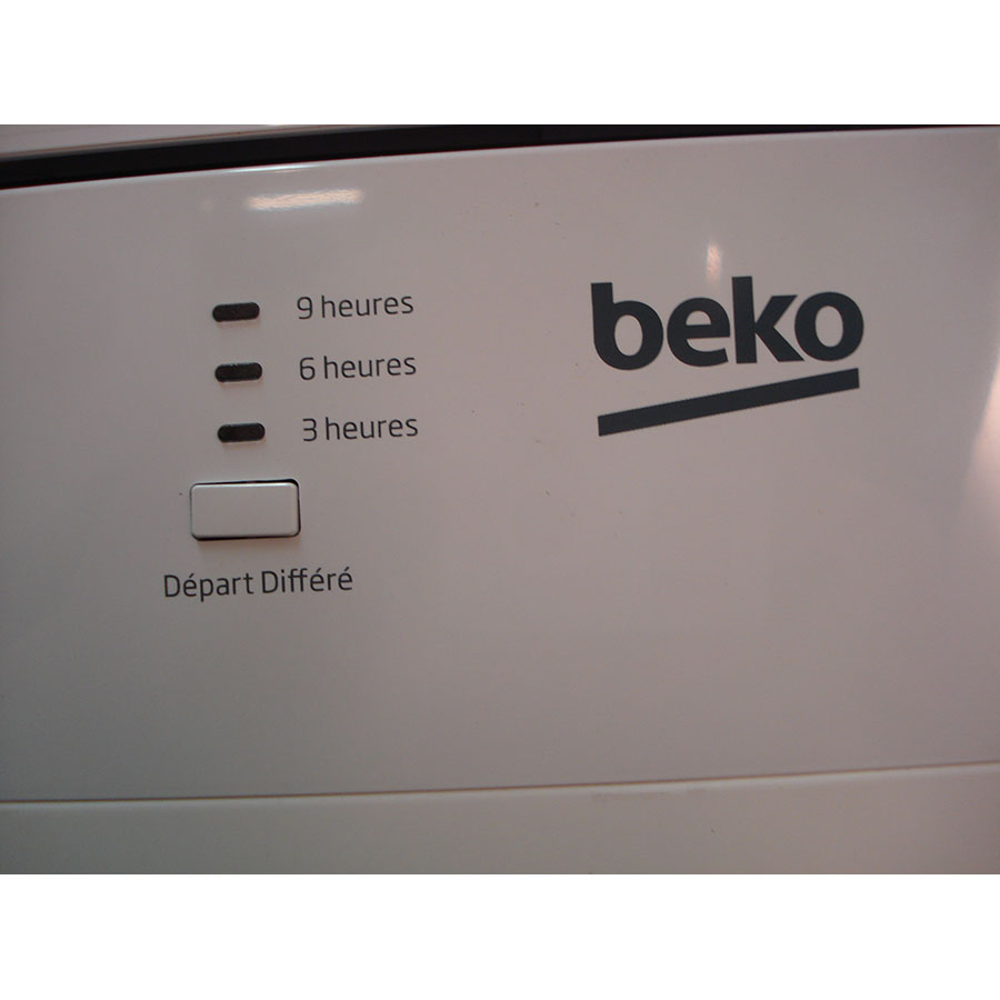 Beko LVP62W1 - Touches de commandes