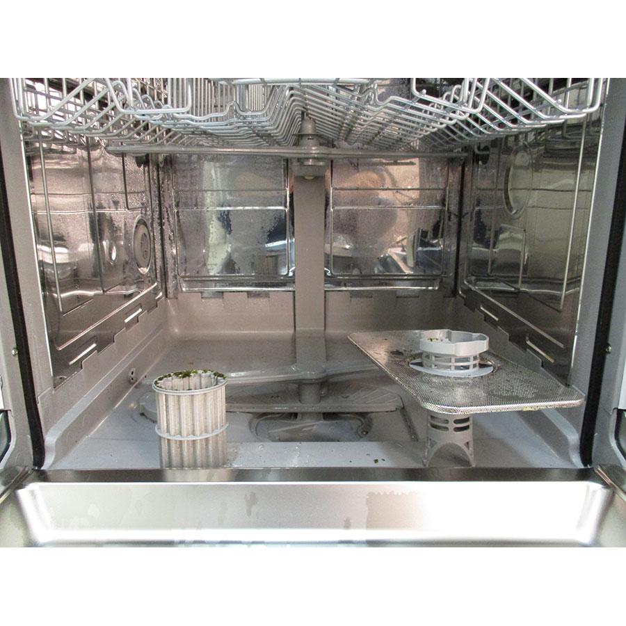 Bosch SMI46AW04E - Réservoir à sel et retrait du filtre