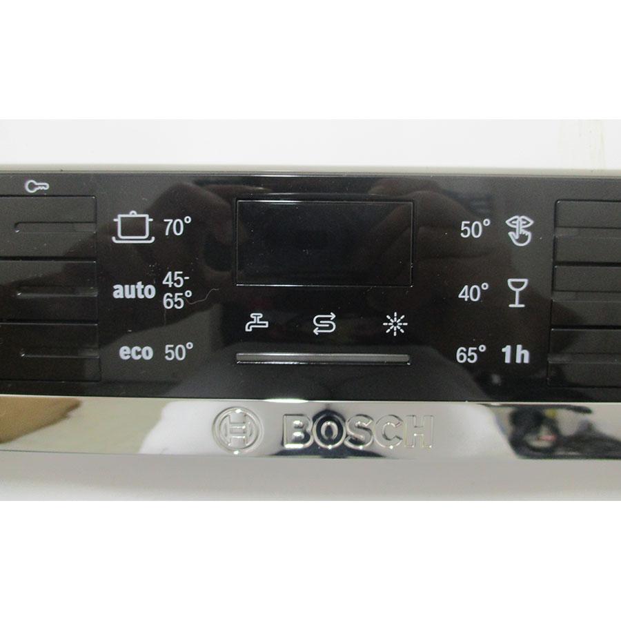 Bosch SMS46JW03E - Bandeau de commandes