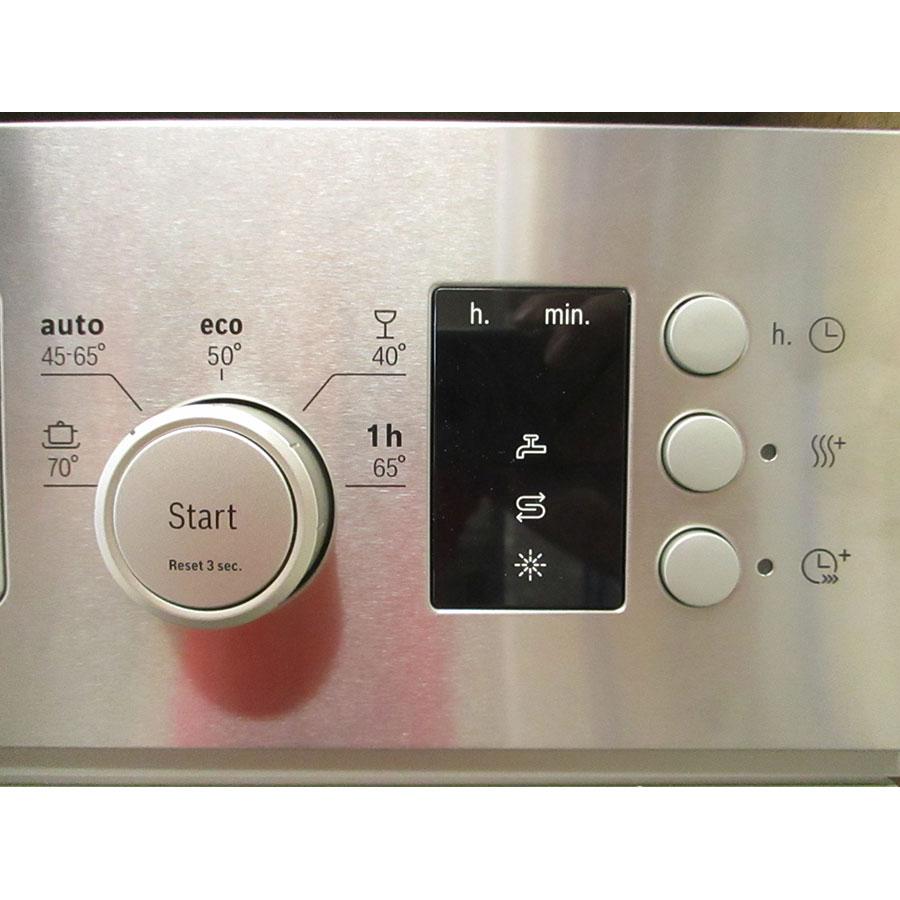 Bosch SPI25CS03E - Touches de commandes