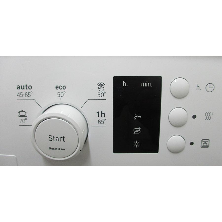 Bosch SPS25CW04E - Bandeau de commandes