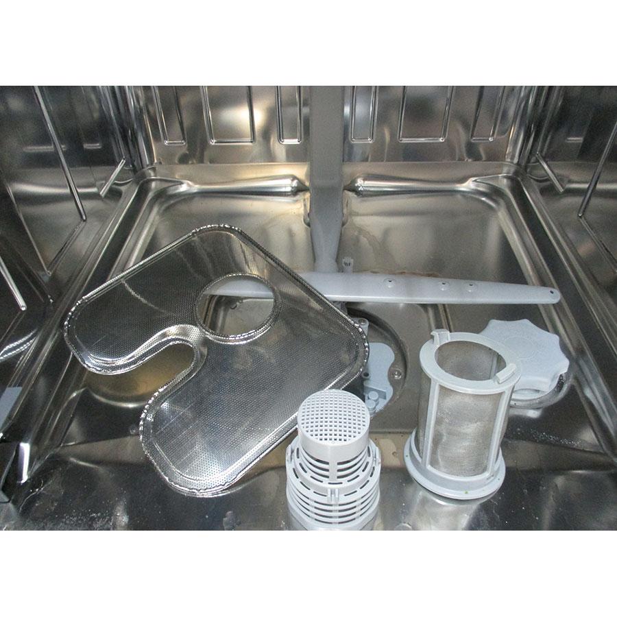 Candy CLV132DS5W47 - Réservoir à sel et retrait du filtre