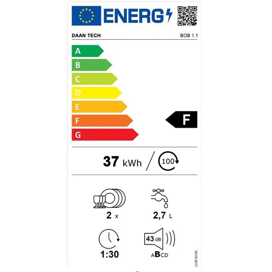 DaanTech Bob - Étiquette énergie
