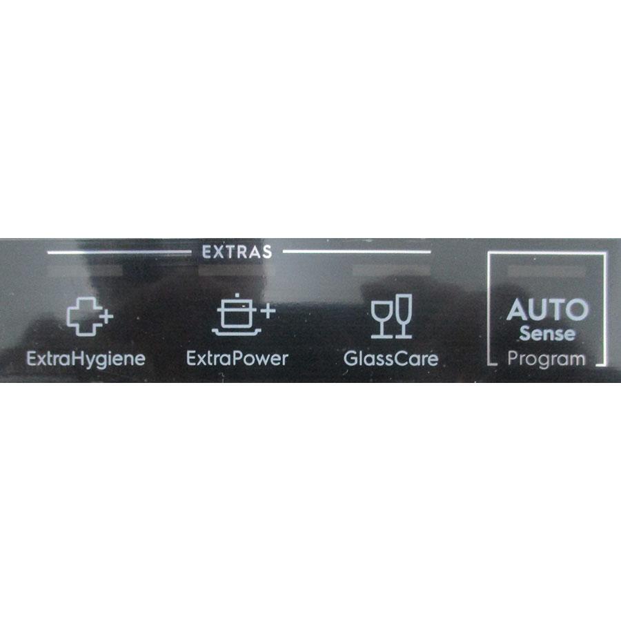 Electrolux EEC87300L - Boutons des programmes