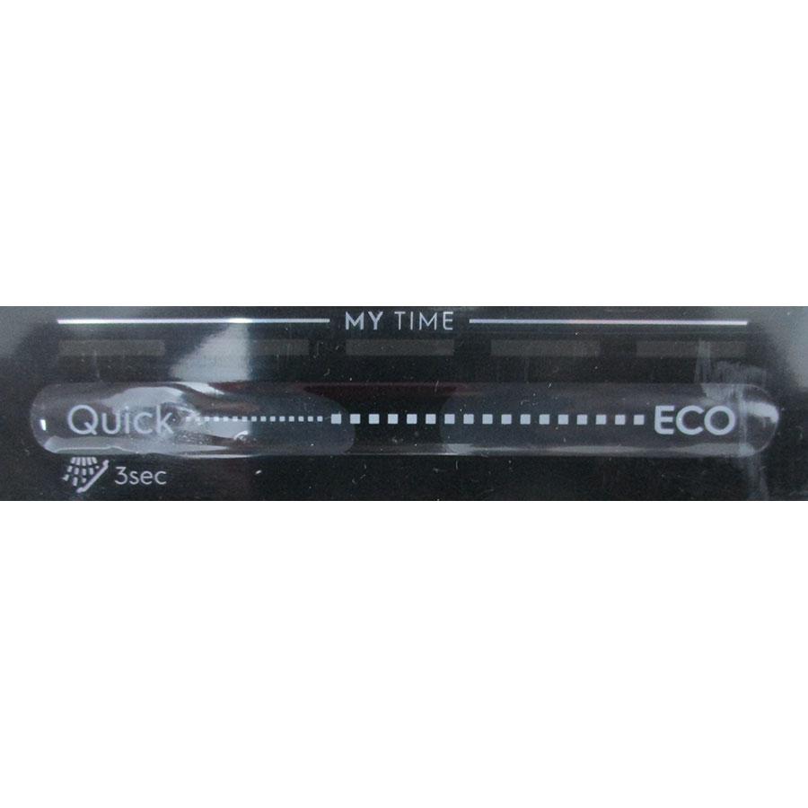 Electrolux EEC87300L - Boutons d'option