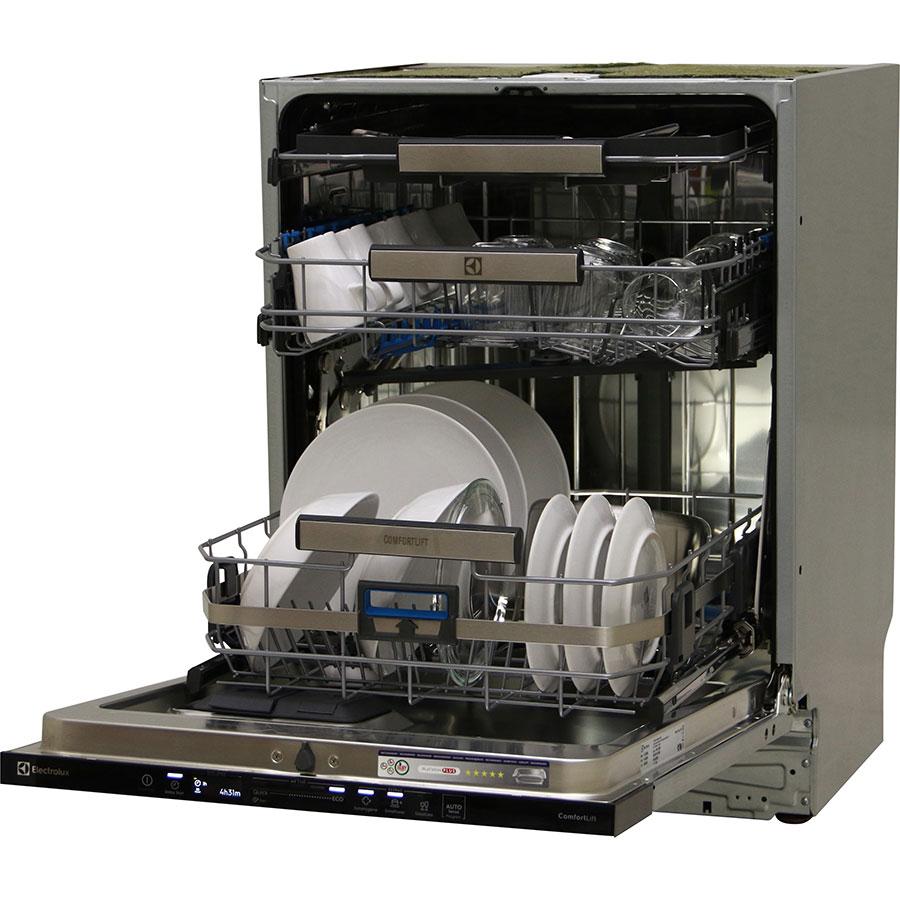 Electrolux EEC87300L - Vue de 3/4, porte ouverte