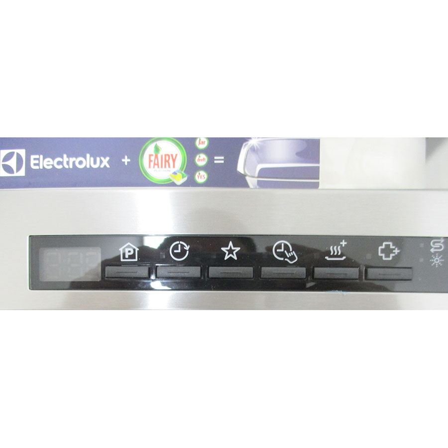 Electrolux ESF7506ROX - Touches de commandes