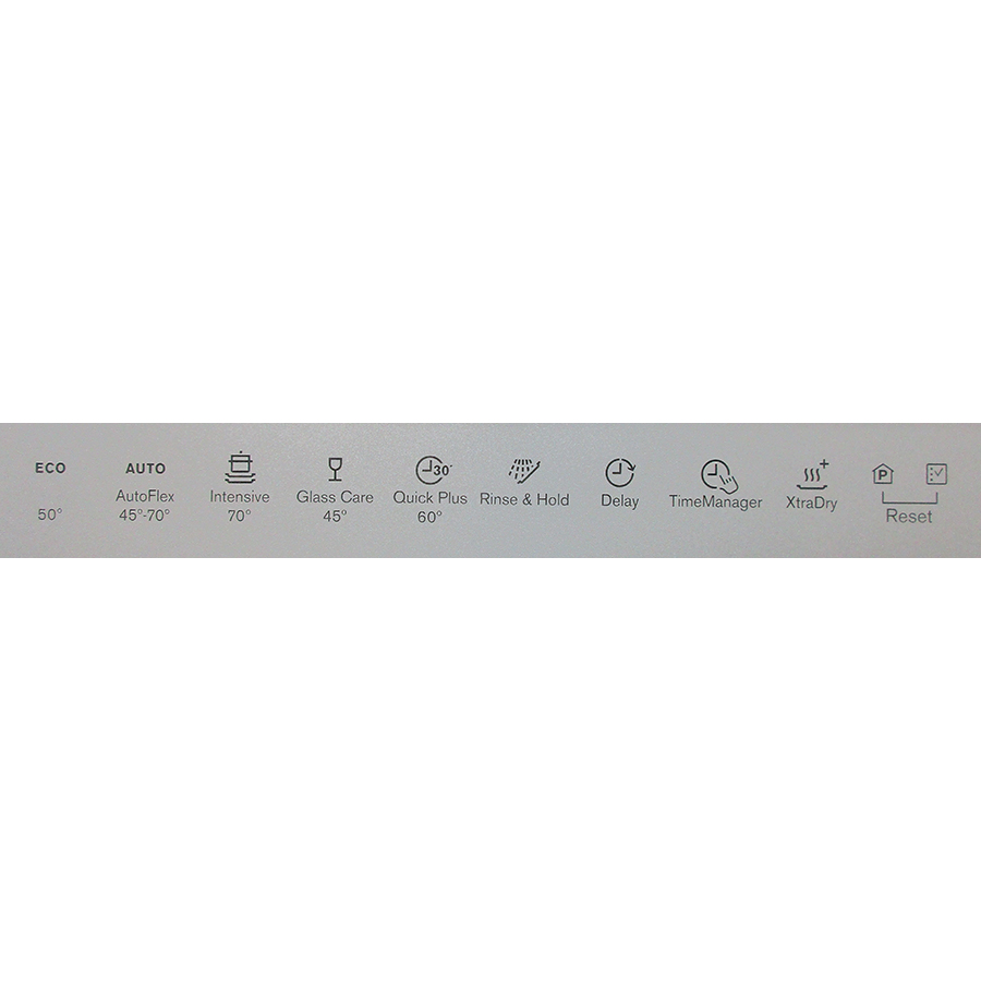Electrolux ESF9516LOX - Programmes