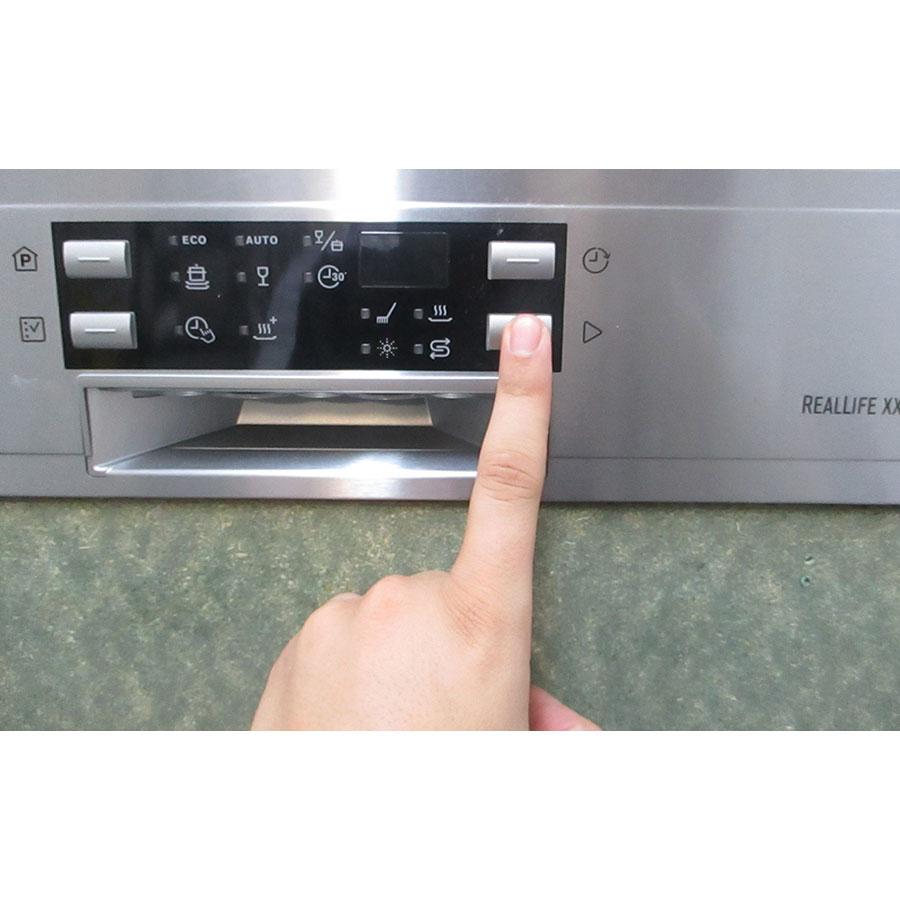 Electrolux ESI8550ROX - Touches de commandes