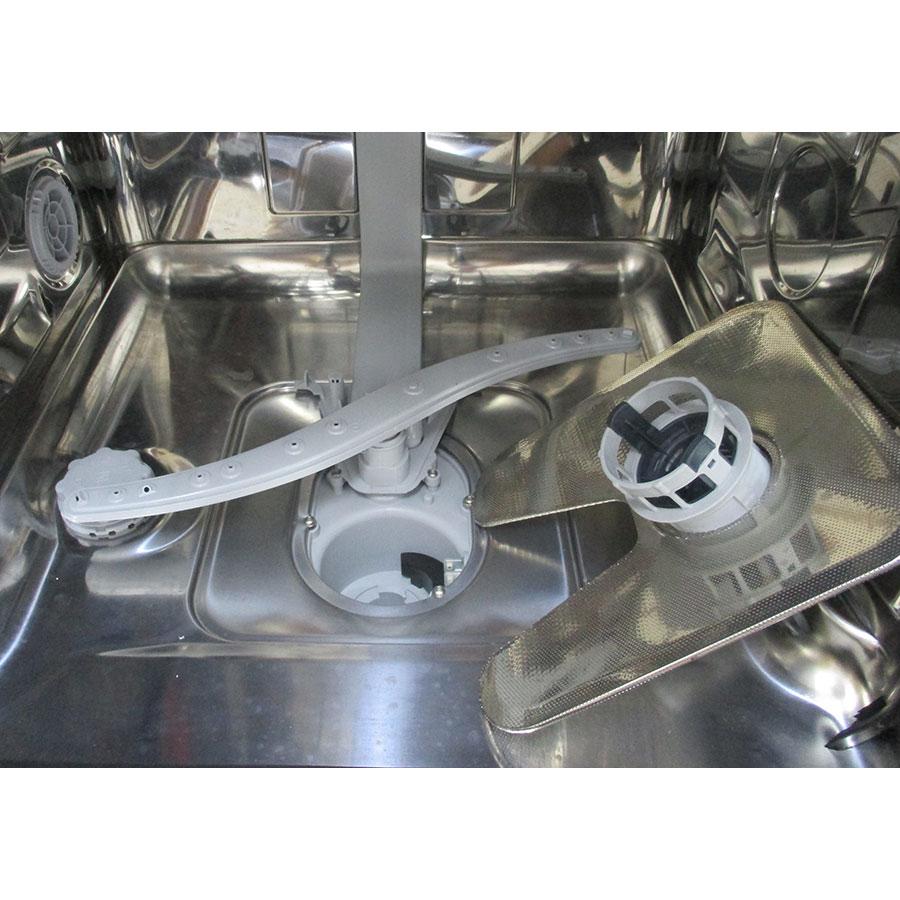 Hotpoint HRFC3C24 - Réservoir à sel et retrait du filtre