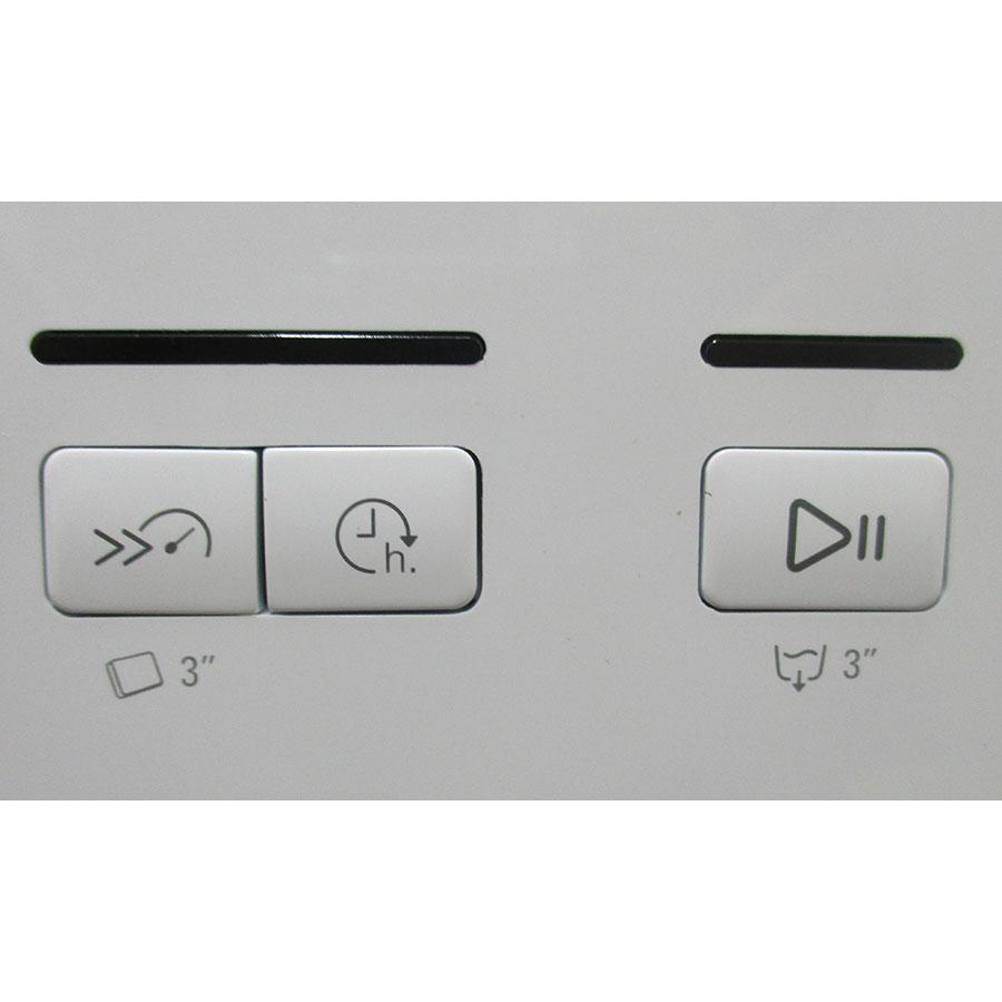Hotpoint HRFC3C24 - Boutons d'option