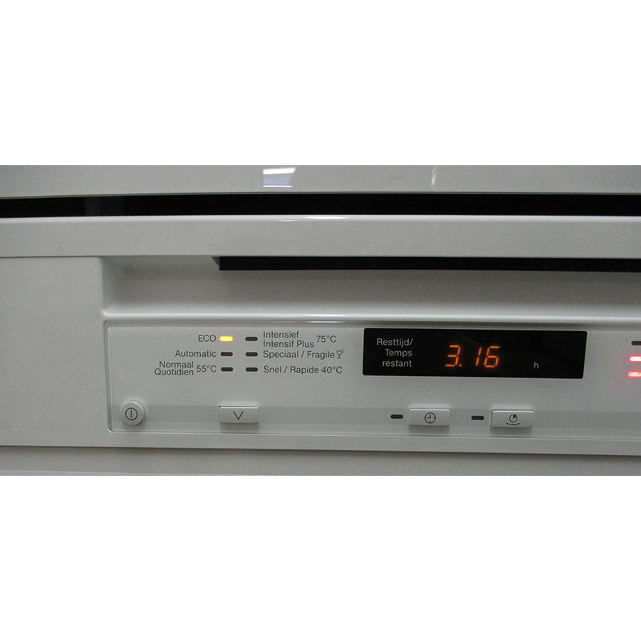 Miele G 6000 SC bw  - Bandeau de commandes